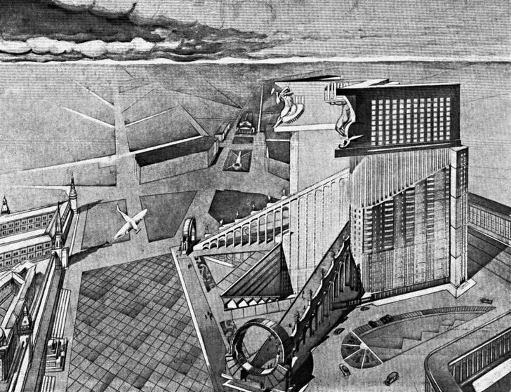 В МУАРе открывается выставка русского архитектурного авангарда фото [5]