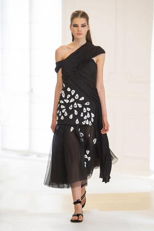 Показ Christian Dior коллекции сезона Осень-зима 2016-2017 года Haute couture - www.elle.ru - Подиум - фото 607086