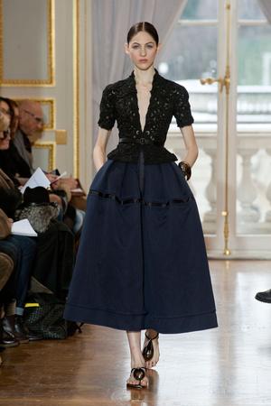 Показ Christophe Josse коллекции сезона Весна-лето 2013 года Haute couture - www.elle.ru - Подиум - фото 477037