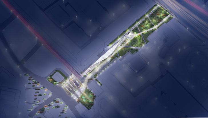 Новый вход в парк Горького по проекту бюро Wowhaus (фото 10)