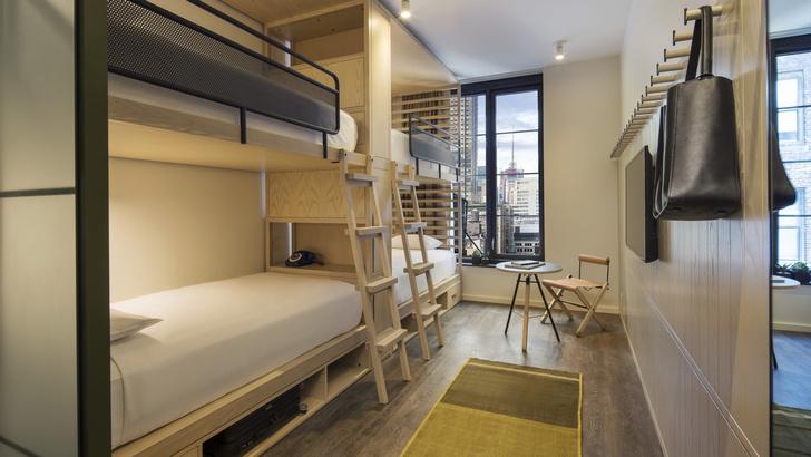 Дизайнерский отель с микро-номерами в Нью-Йорке (фото 27)