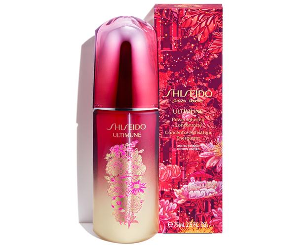 Pink winter: концентрат для иммунитета кожи Shiseido Ultimune (фото 1)