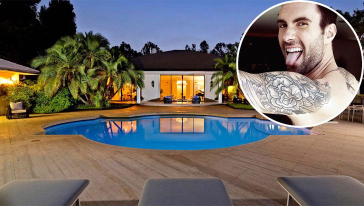 Адам Левин и его особняк в Лос-Анджелесе