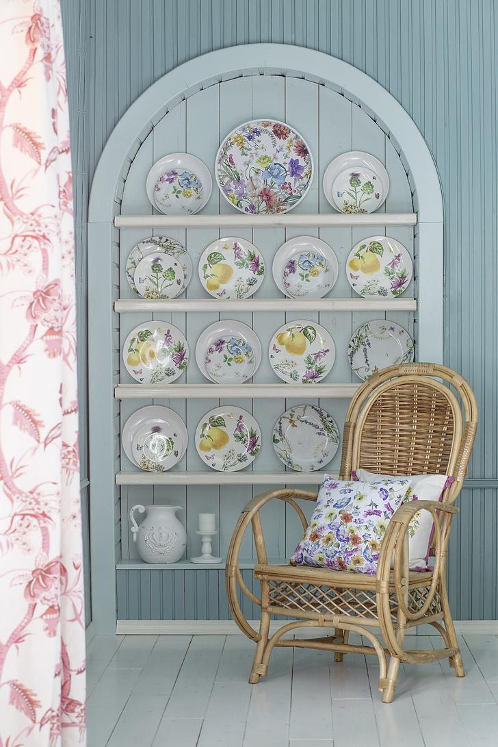 Плетеная мебель в интерьере: 20+ примеров (галерея 1, фото 1)
