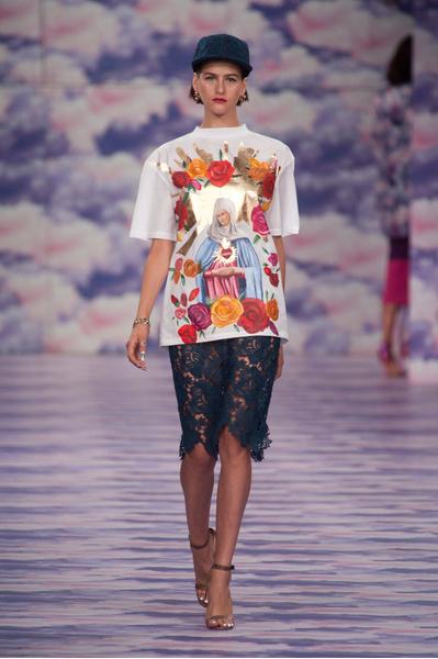 Лучшие модели с показа House of Holland на Неделе моды в Лондоне