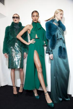 Показ Gucci коллекции сезона Осень-зима 2011-2012 года Prêt-à-porter - www.elle.ru - Подиум - фото 257106