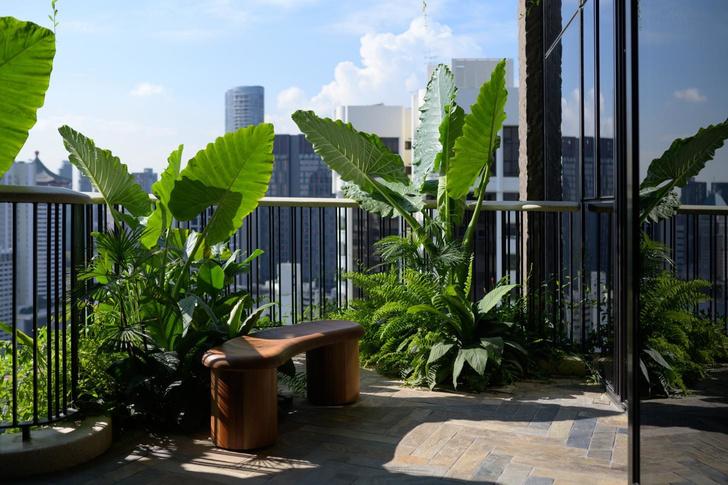 Райская жизнь: люксовые апартаменты в Сингапуре (фото 4)