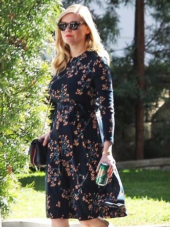 Кирстен Данст впервые вышла в свет после новости о беременности (фото 3)