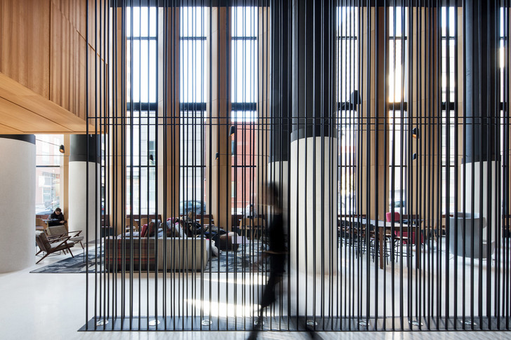 Montreal's Hotel Monville by ACDF Architecture features strict palette (фото 4)