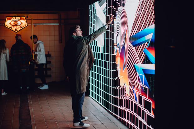В Москве прошла презентация работ стрит-арт художника Фелипе Пантоне (фото 1)