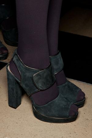 Показ Nicole Farhi коллекции сезона Осень-зима 2012-2013 года prêt-à-porter - www.elle.ru - Подиум - фото 355920