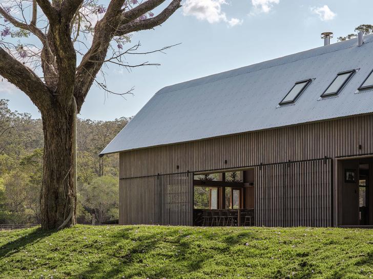 Домик в деревне: загородный дом в стиле Барнхаус в Австралии (фото 14)