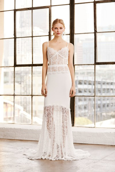 В стиле ретро: свадебные коллекции 2019 (галерея 9, фото 1)