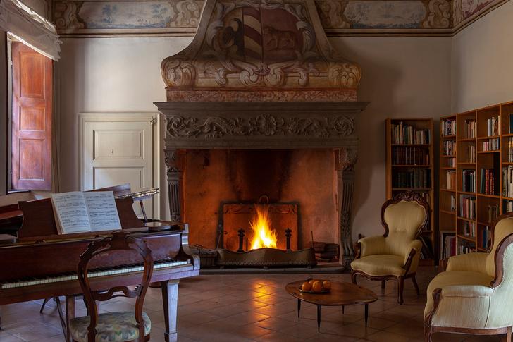 Виллу XVI  века в Ломбардии можно арендовать на Airbnb (фото 6)