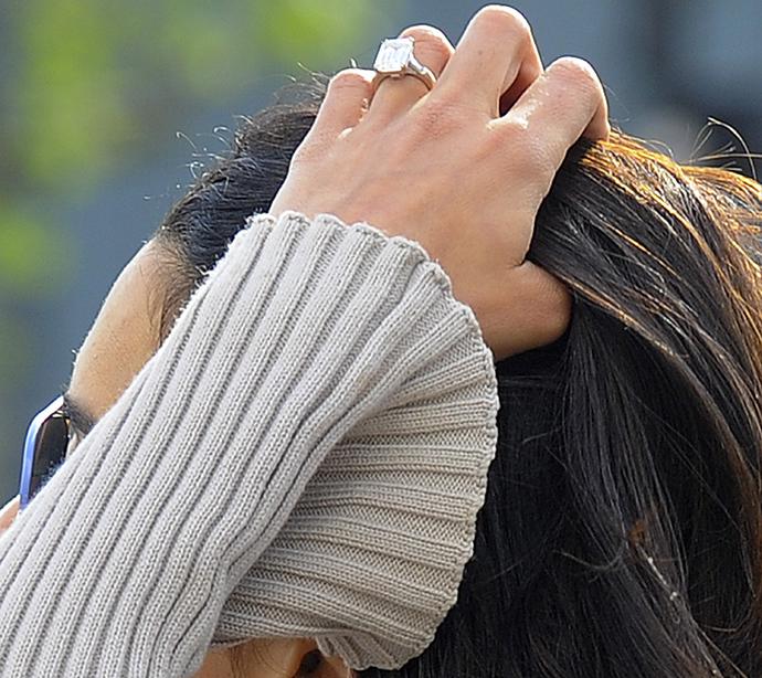 Обручальное кольцо Амаль Клуни