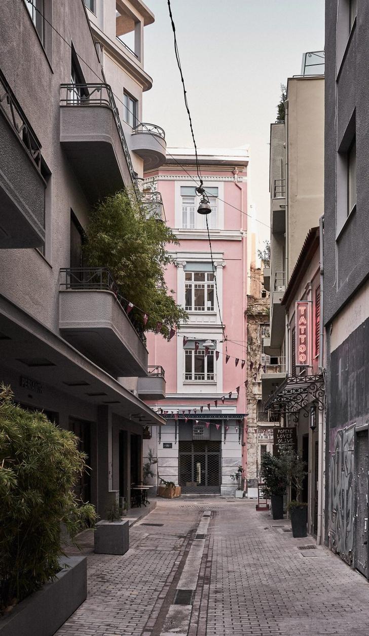 Современный отель в центре Афин (фото 17)