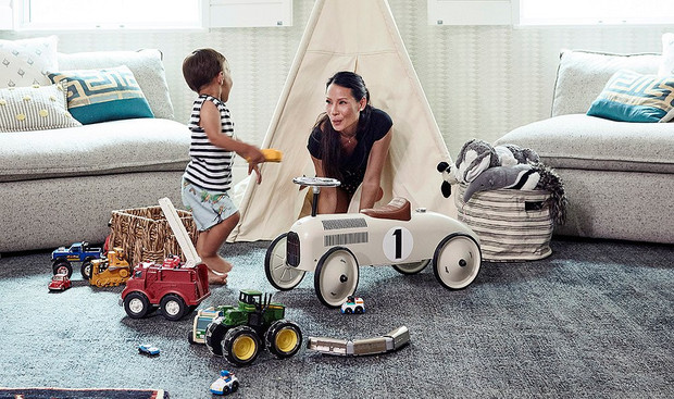 Лучшее детям: Люси Лью показала детскую своего сына фото [7]