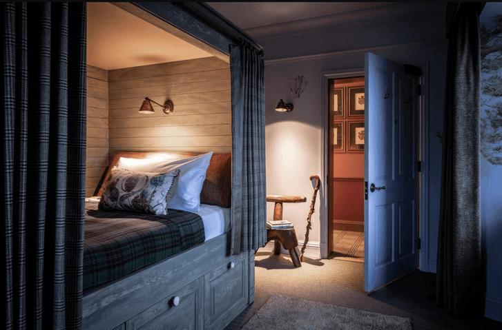 Отель в старинном охотничьем домике в Шотландии (фото 10)
