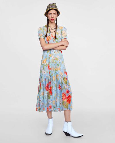 15 платьев в цветочек не дороже 15 000 рублей (галерея 1, фото 14)
