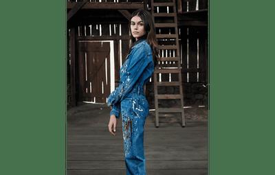 Новые снимки: Кайя Гербер с братом в рекламной кампании Calvin Klein Jeans (галерея 3, фото 2)