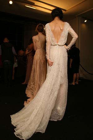Показ Elie Saab коллекции сезона Осень-зима 2011-2012 года haute couture - www.elle.ru - Подиум - фото 279036