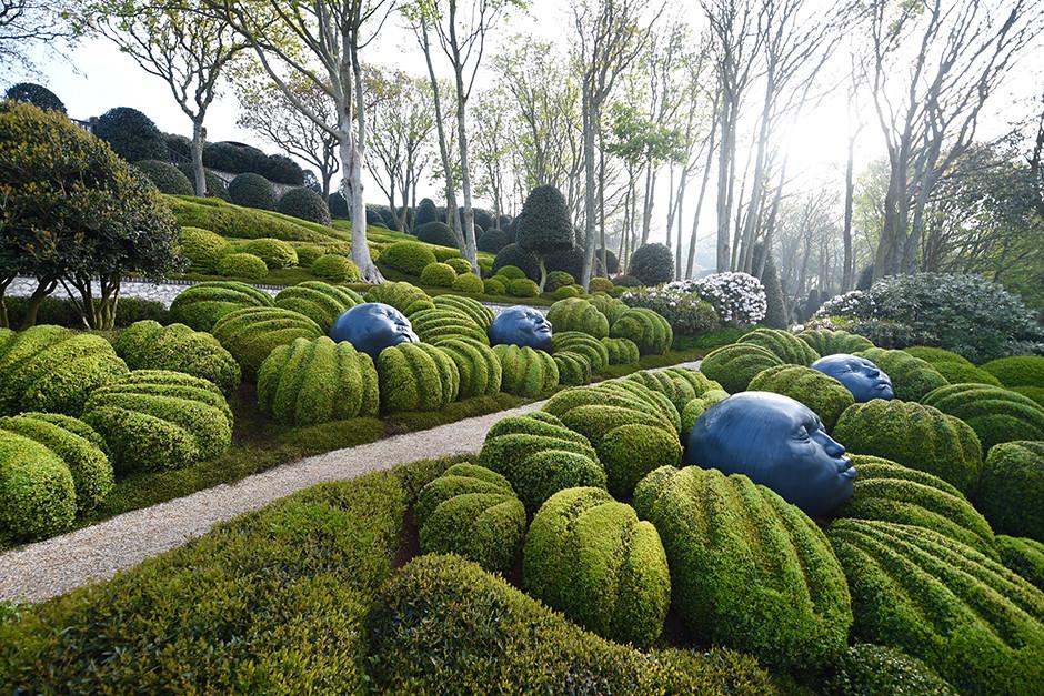 Сад в Этрета