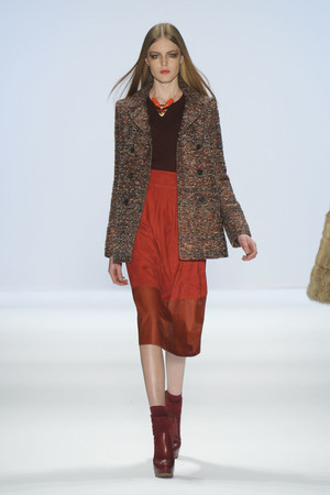 Показы мод Jill Stuart Осень-зима 2011-2012 | Подиум на ELLE - Подиум - фото 2416