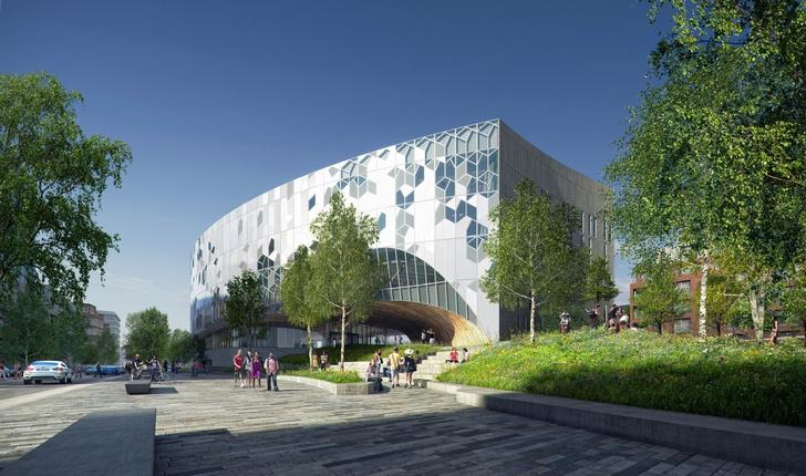 Городская библиотека в Калгари от бюро Snøhetta (фото 2)