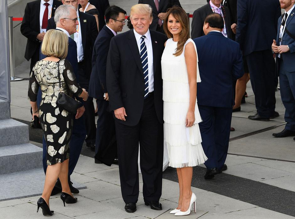 Мелания Трамп в Michael Kors Collection фото