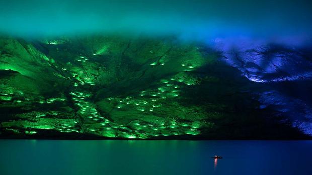 Северное сияние: световое шоу художника Кари Колы (фото 2)