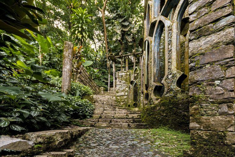 Las Pozas: cюрреалистический парк в мексиканских джунглях (галерея 12, фото 5)