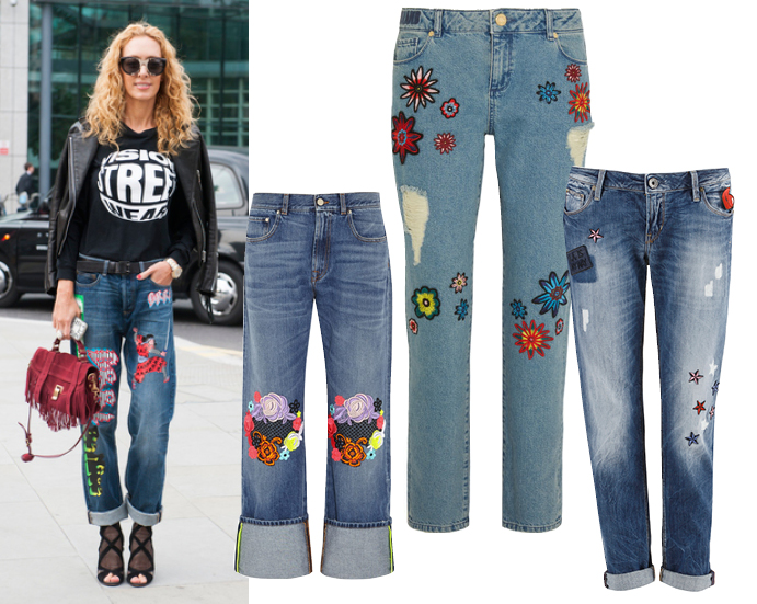 Модные джинсы весна лето 2015 фото 3