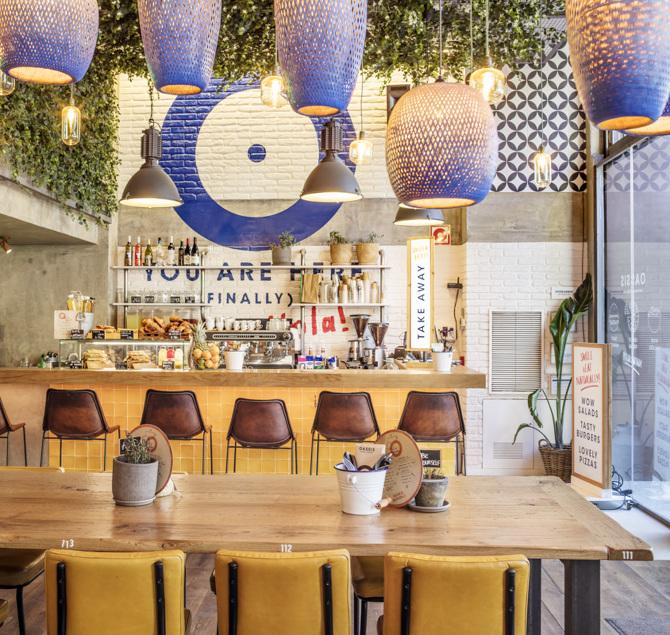 Oassis: тихий ресторан в центре Барселоны (фото 8)