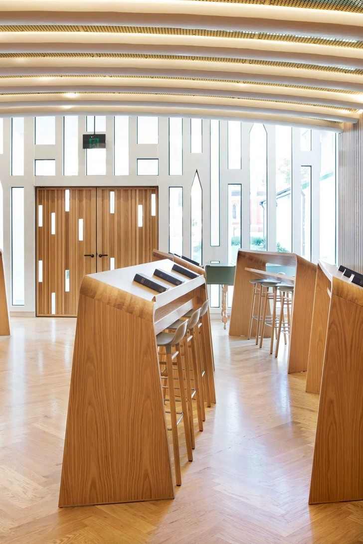 Новая школа церковного хора от Palassis Architects (фото 7)