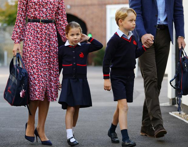 Принц Джордж и принцесса Шарлотта перешли на домашнее обучение (фото 2)