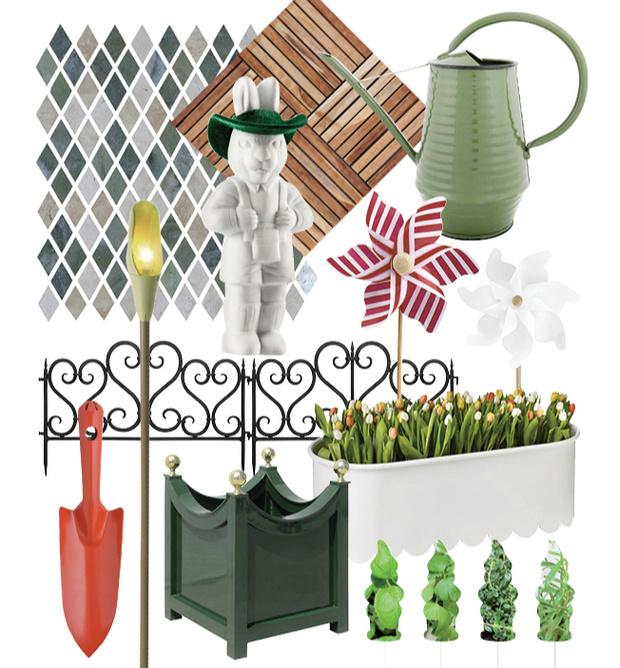 Практика: обустройство декоративного огорода (фото 8)