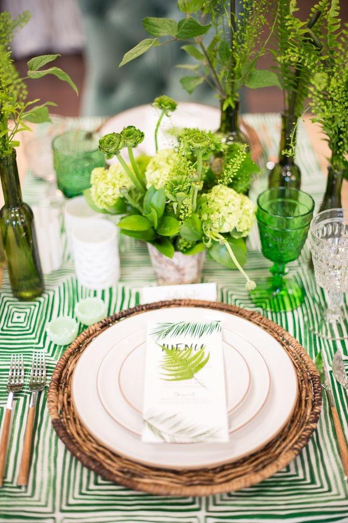 20 идей для сервировки и декора свадебного стола (галерея 1, фото 2)