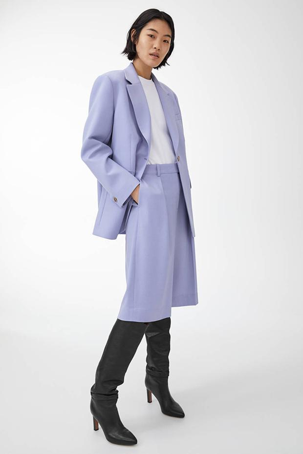 Три бренда, у которых можно купить костюм с шортами, похожий на тот, что выбрала Кейт Аптон (фото 5)