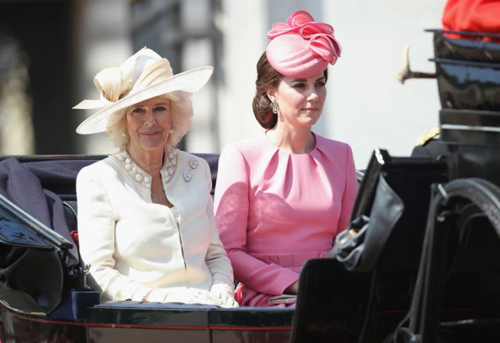 Кейт Миддлтон и герцогиня Камилла