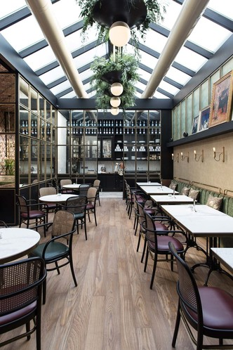 Афинский ресторан в стиле ретро (фото 11.1)