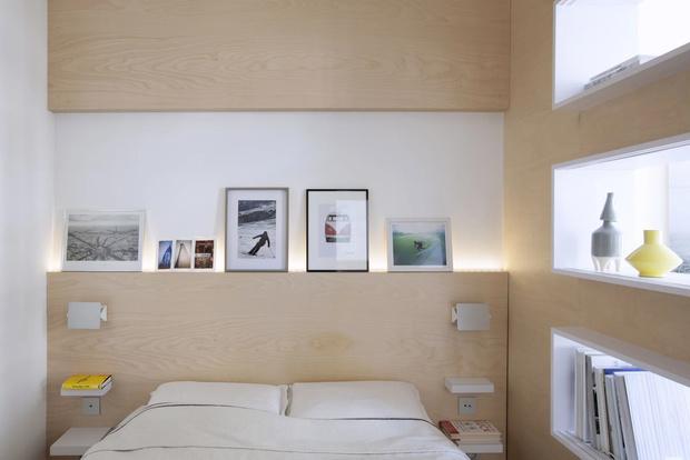 Минималистская квартира 47  м²  в Париже (фото 12)