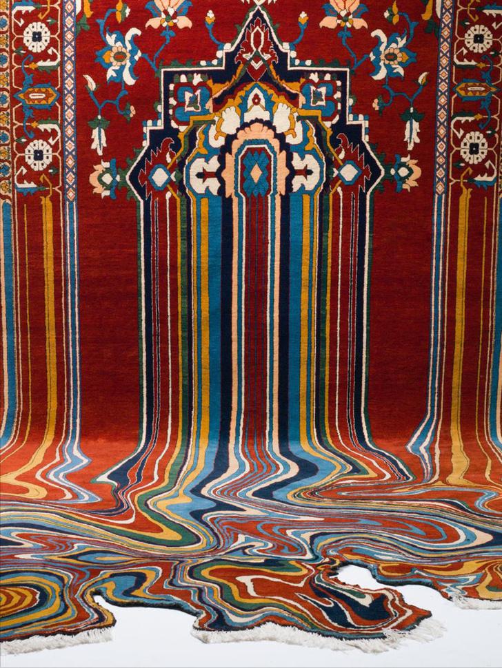 ТОП-10: ковры с оптическими иллюзиями фото [6]
