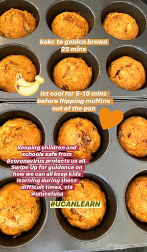 Рецепт банановых маффинов от Джиджи Хадид (фото 1.2)