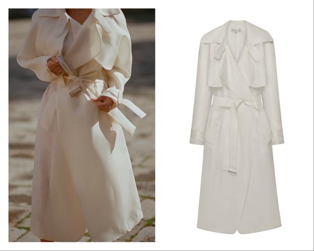 Свадебный #newlook: шелковый тренч вместо платья невесты (фото 1)