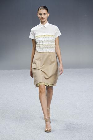 Показы мод Sacai Весна-лето 2012 | Подиум на ELLE - Подиум - фото 1822