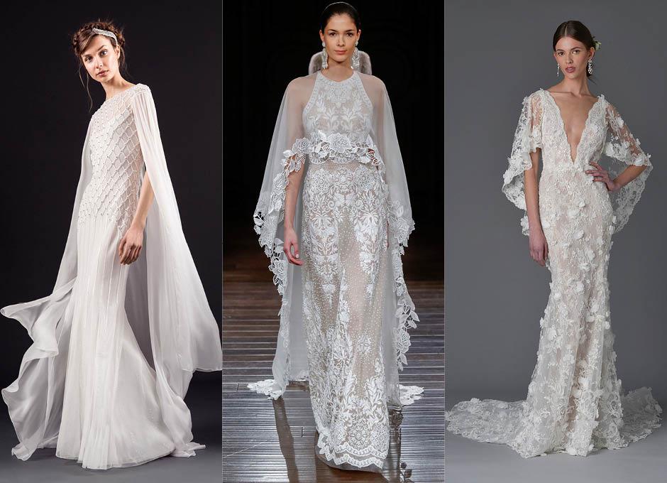 Красивые свадебные платья Temperley Bridal, Naeem Khan, Vera Wang
