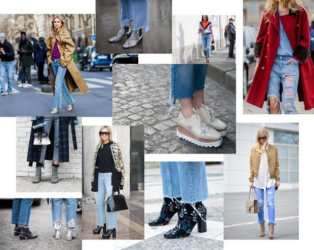 модные джинсы ss16