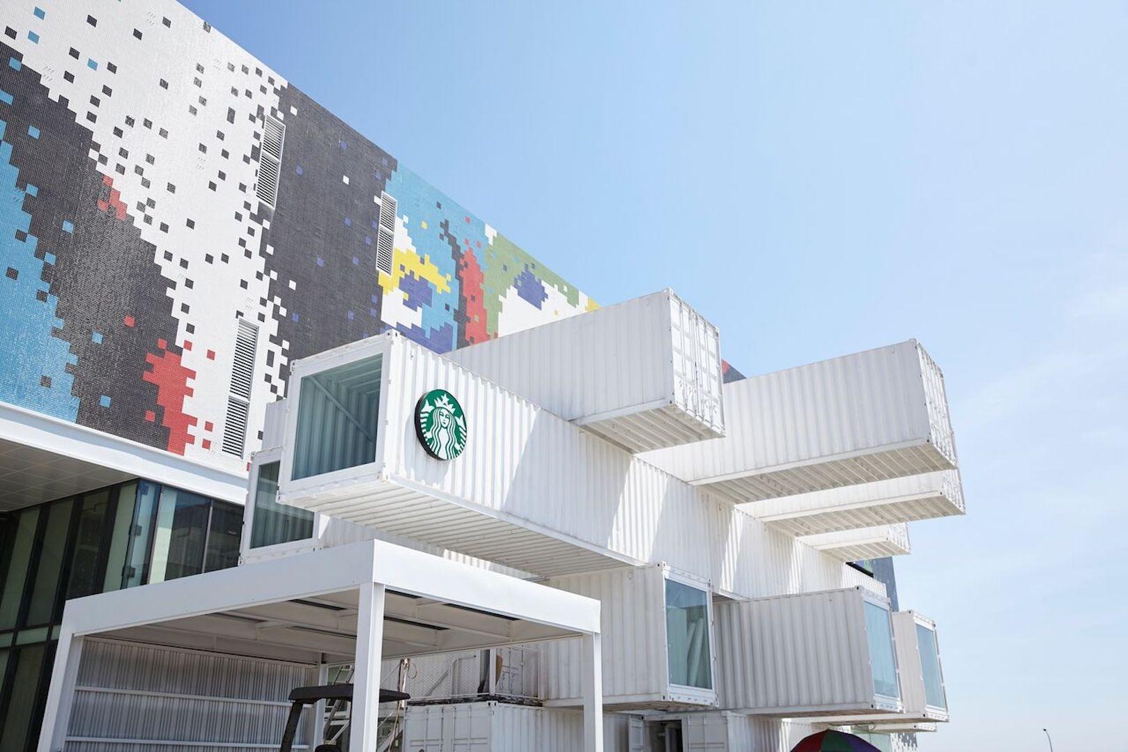 Дом из контейнеров: Starbucks по проекту Кенго Кумы (галерея 4, фото 2)
