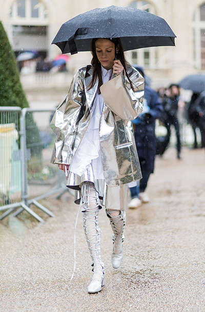 How to dress in the rain: | gallery [2] photos [8]