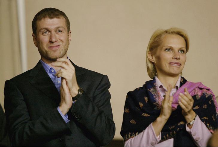 Роман Абрамович и экс-жена Ирина